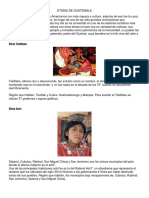 etnias guatemalteca