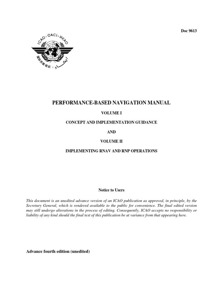 20120705-pbn-manual-advanced-fourth-edition.pdf | Navigation | Systems  Engineering