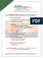 Axes Intermediations Fiches Techniique Et Commerciale Filigra Fin