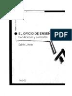 Eloficiodeensear Edithlitwin Captulo2 110627141724 Phpapp02