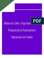 Financiacion Internacional Medios de Pago