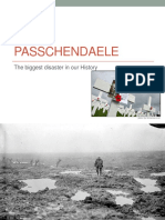 Passchendaele - The Battles