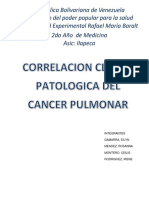 Cancer de Pulmon.