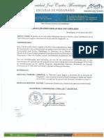 Directiva Pagos a Docentes