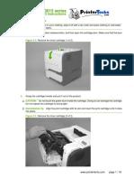 Instrucciones de Reemplazo Kit Hp P3015
