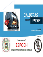 Calderas -sistemas de generación de vapor