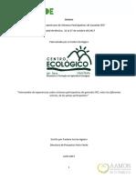 Síntesis del Encuentro de SPG en México, Costa Rica
