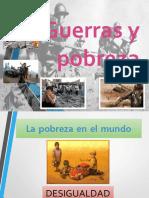 Guerras y Pobreza