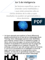 Factor S de Inteligencia