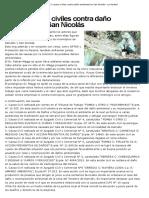 Las 17 Causas Civiles Contra Daño Ambiental en San Nicolás – La Verdad