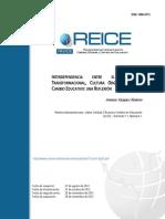 INTERDEPENDENCIA ENTRE EL LIDERAZGO TRANSFORMACIONAL, CULTURA ORGANIZACIONAL Y CAMBIO EDUCATIVO