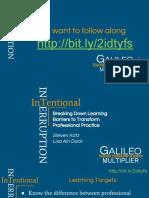 intentional interruptions presentation