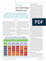 A Clear Label Strategy for Food Additives