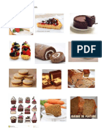 Catálogo de Tortas, Postres