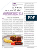 A Guide to Printing Your Own Food