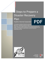 5 Steps for Disaster Recovery Planning