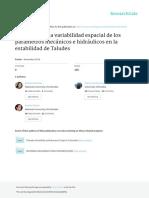 Muñoz Et Al. Influencia de Los Parámetros Mecánicos e Hidráulicos en La Estabilidad de Taludes_póster
