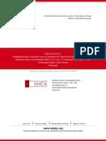 Carmona - Investigacin Etica y Educacion Moral. El Programa de FpN de Lipman