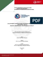 Principios Constitucionales - Juan Pablo Torrealba