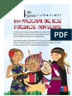 24 Junio Pueblos Indigenas
