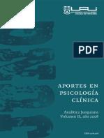 Aportes a La Psicologia Junguiana Vol. II