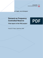 EA_Demand as Frequency Controlled Reserve