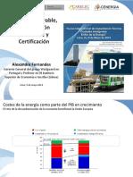 12 Energía Renovable, Construcción Sostenible y Certificación Parte II - Alexandre Fernandes