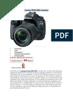 Canon EOS 80D Revisión