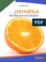 Matematica La Division en Cuestion en La Escuela Primaria
