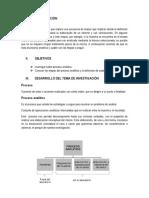 Informe de Proceso Analítico