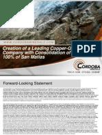 Cordoba Consolidation Presentation June 2017 v2-1497436964