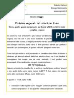 Proteine Vegetali-eBook Regalo-Vegcoach It