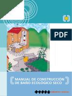 Manual de Construccion de Ba o Ecologico Seco