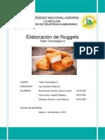 Informe Nro 3 - Elaboración de Nuggets