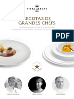 E-Book Vista Alegre Receitas de Gprandes Chefs