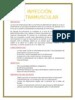 Inyeccion Intramuscular