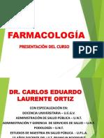 1° CLASE FARMACOLOGIA 1 - FASE FARMACEUTICA