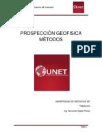 Prospección geofisica.