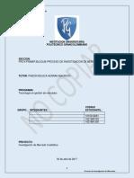 Investigacion de Mercado Cualitativa-primera Entrega