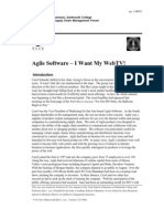 Agile Software Web TV Case Study