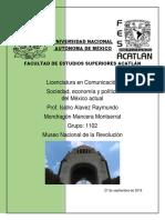 Sociedad - Revolución Mexicana