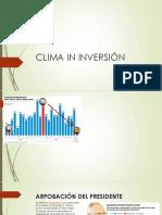 Clima de Inversión