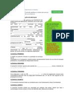 Modelo Contrato Prestacao de Servicos Contaazul r