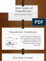 Other Types of Transducers