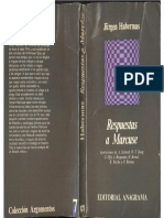 Habermas, Jürgen Et Al. - Respuestas a Marcuse, Ed. Anagrama, 1969