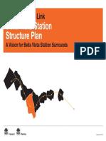 North West Rail Link Bella Vista Station Structure Plan a Vision for Bella Vista Station Surrounds 2013 09