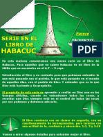Serie en Habacuc