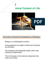 Chapter 2-Chemical Context of Life
