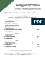 Formato Modelo de Informe Gestión