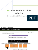 FP1 Chapter 6 - Proof by Induction